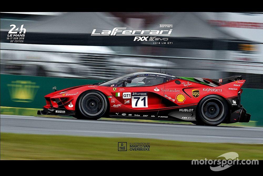 Ferrari начала работать над гиперкаром для Ле-Мана. Эксклюзив Motorsport.com