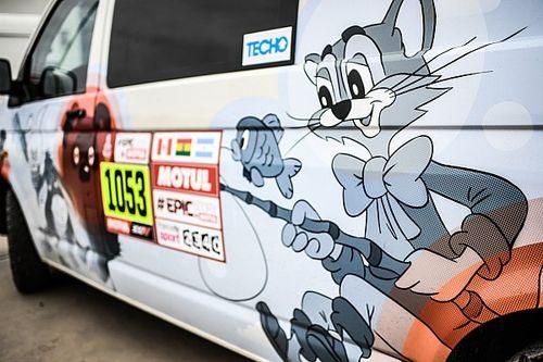 Fotók a 40. Dakar rali gépátvételéről