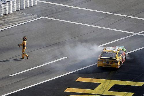 "Kyle Busch saw Sunday's Clash at Daytona as ""kind of backwards"""
