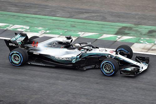 """Hamilton: """"Nieuwe Mercedes op elk aspect beter"""""""