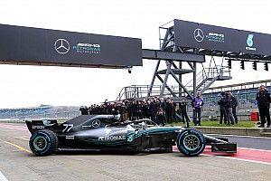 GALERI: Mobil F1 2018 Mercedes W09 EQ Power+