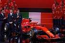 F1 Ferrari desvela el SF71H, con el rojo como protagonista