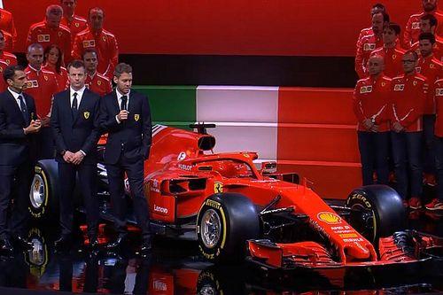 Vettel cree que Ferrari acertó con el monoplaza 2018