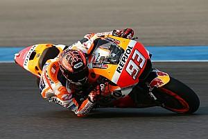 MotoGP Reporte de pruebas Márquez y Pedrosa marcan el ritmo en Tailandia