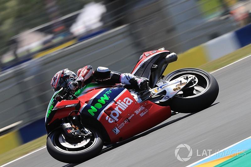 """Aprilia, Espargaro: """"Qui a Le Mans basta poco per perdere posizioni"""""""