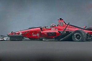 Видео: авария Джеймса Дэвисона в тренировке перед Indy 500