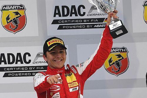 Enzo Fittipaldi é segundo na F4 alemã em Lausitzring