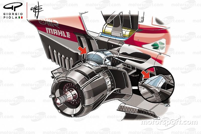 Analisi Ferrari: il nuovo bracket non migliora la meccanica, solo l'aero