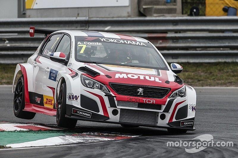 Zandvoort WTCR: Comte bags Peugeot's maiden win