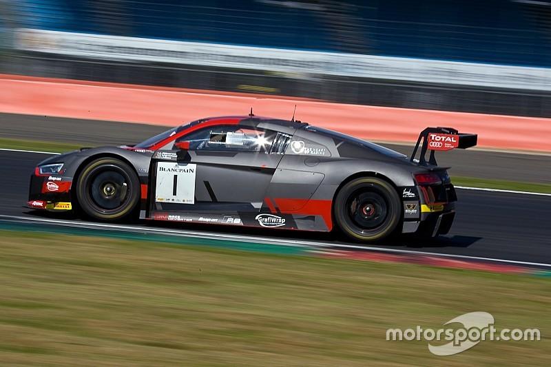 Dries Vanthoor e l'Audi del WRT subito in testa nelle Libere di Barcellona