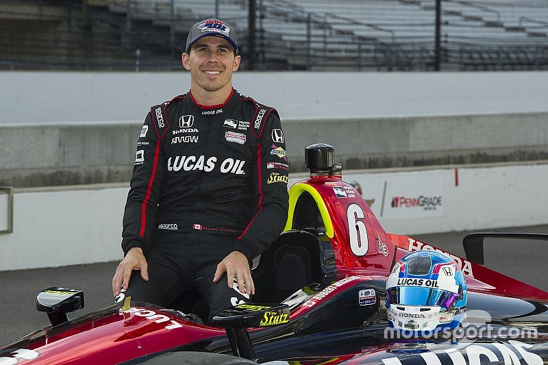 Offiziell: Robert Wickens ist IndyCar-Rookie des Jahres 2018