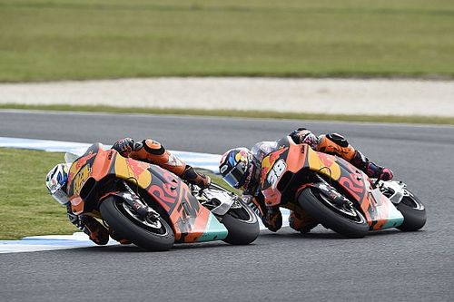 "KTM breaching top six felt ""strange"" to Espargaro"