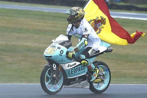 Victoria y título Mundial de Moto3 para Joan Mir