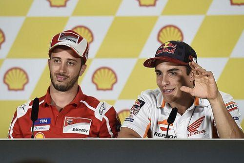 Tak mampu saingi Dovi, Marquez masih kesulitan dengan motor