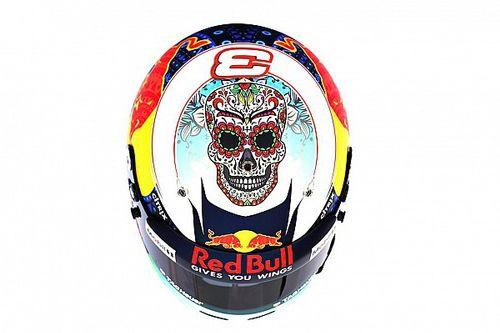 GALERIA: Ricciardo e Perez usam cascos especiais no México