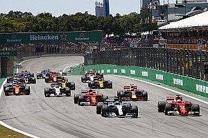 Formel 1 2017 in Brasilien: Das Rennergebnis in Bildern