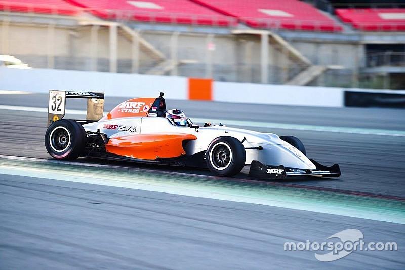Dubai MRF: Martono beats Drugovich to pole by 0.034s