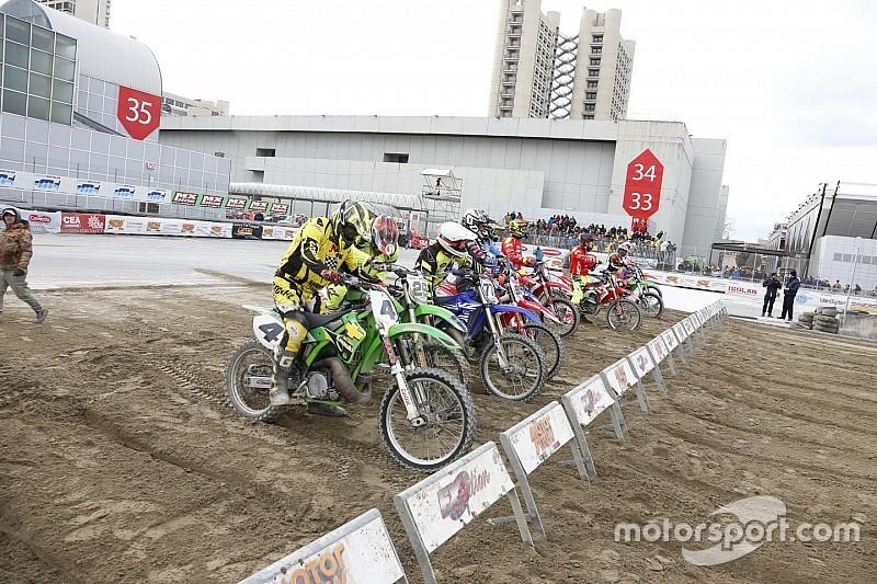 Fotogallery: le gare di cross d'epoca chiudono il Motor Show per le 2 ruote
