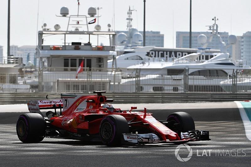 Räikkönen lidera el primer día de pruebas en Abu Dhabi