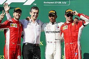 Stand WK Formule 1: Hamilton met voorsprong de zomerpauze in