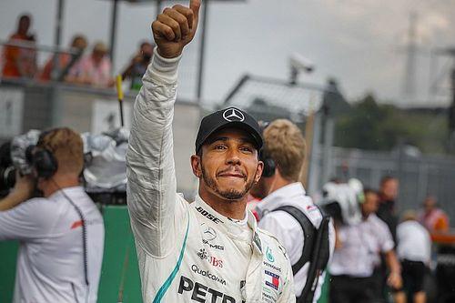 Hamilton: Hujan buat persaingan jadi seimbang