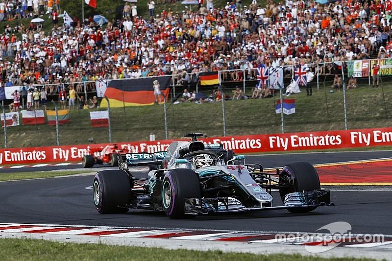 """هاميلتون: """"تغيير كبير"""" في إعدادات السيارة مهّد الطريق للفوز في المجر"""