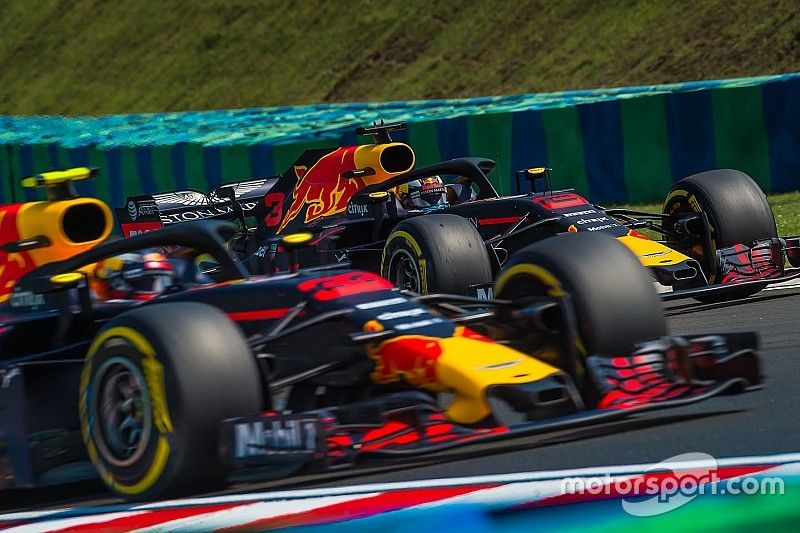 """Ricciardo: """"Verstappen me gana en clasificación pero no por pelotas"""""""