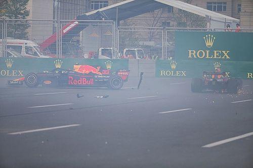 Vidéo - L'accrochage entre les pilotes Red Bull à Bakou