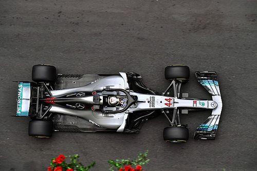 Mercedes cambió el monoplaza del viernes al sábado en Bakú