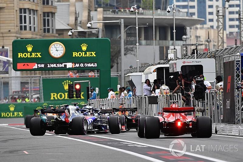 Гран При Азербайджана: стартовая решетка в картинках