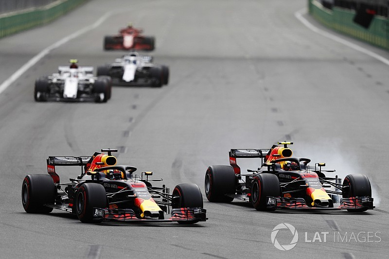 Red Bull vai intervir para evitar incidentes como o de Baku