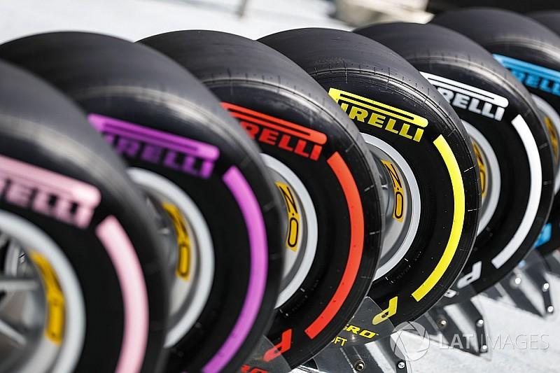 Az F1-es csapatok gumiválasztása a Spanyol Nagydíjra