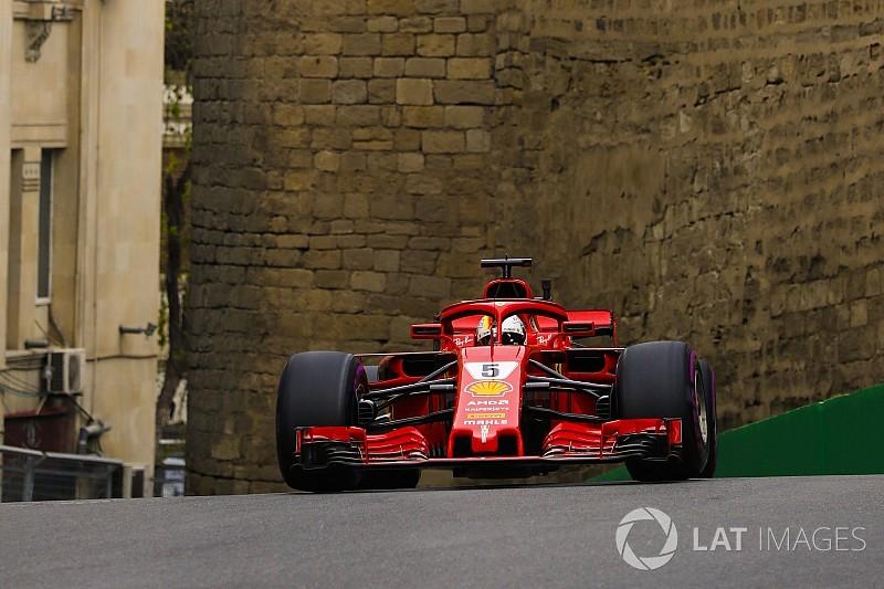 Para Vettel, Ferrari vai bem em Baku, mas ele não
