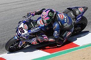 Yamaha a due facce in Gara 1 a Laguna Seca