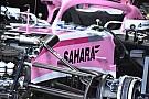 Pérez : Force India manque d'évolutions pour des raisons financières