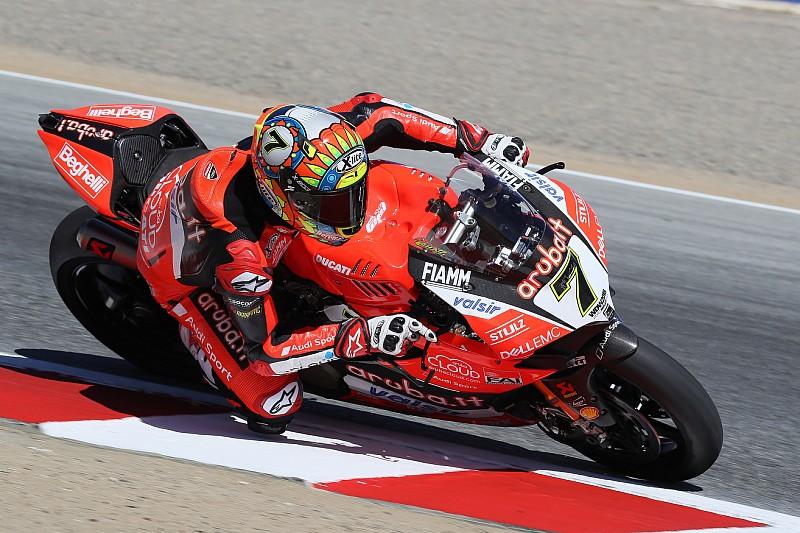 Laguna Seca, Superpole: Ducati super con Davies, che batte Sykes e Rea!