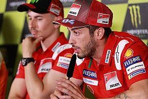 Descarta Dovizioso que Ducati favorezca a Lorenzo