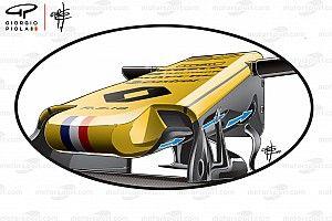 Así es el mejorado S-duct del Renault RS18