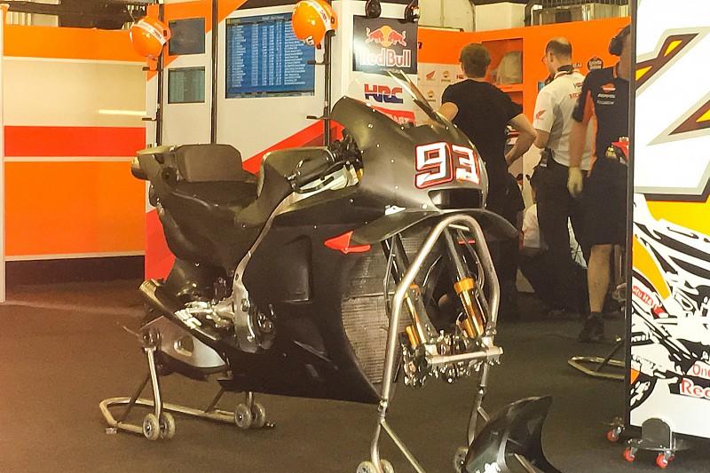 Marquez' schwarze Honda: Aerodynamik & Elektronik im Visier