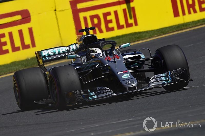 Formel 1 Melbourne 2018 Vorsprung Von Mercedes Schmilzt