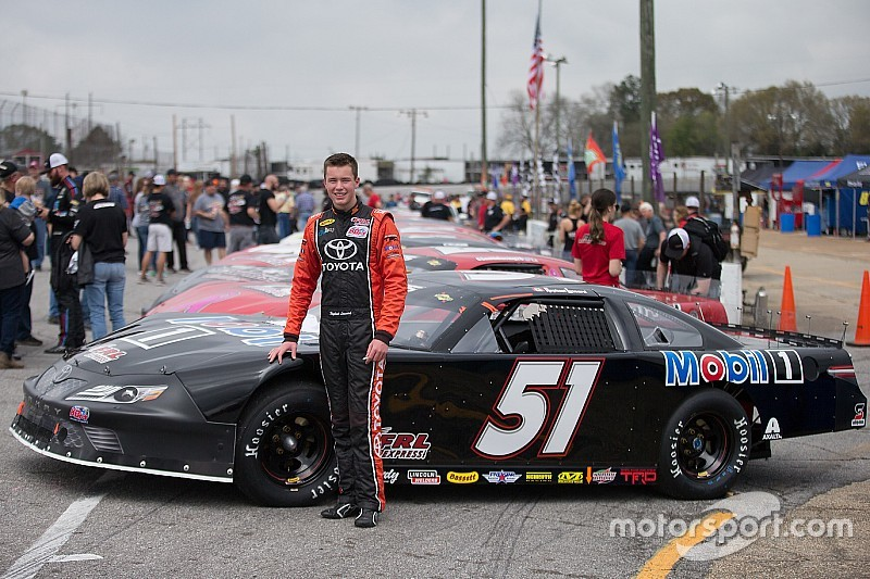Disappointment for Lessard at Hickory Motor Speedway