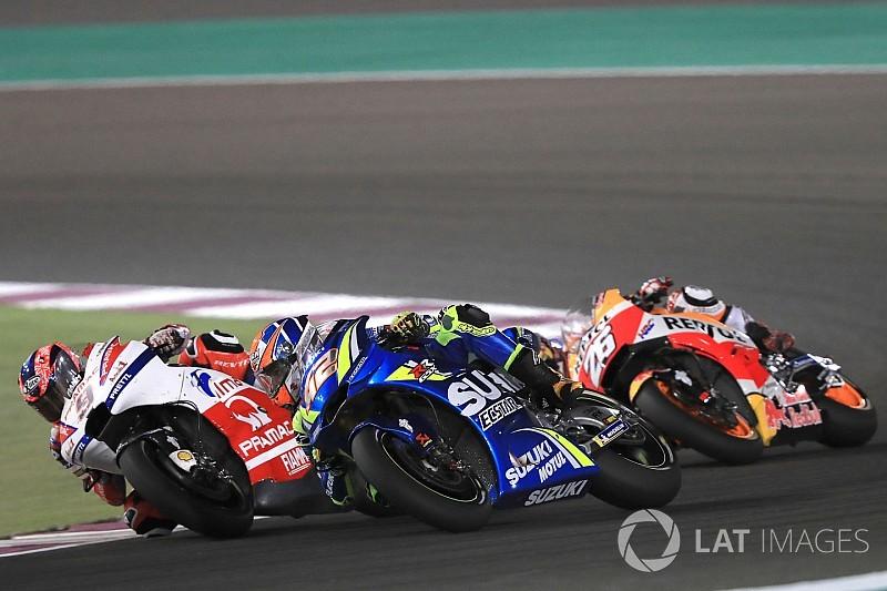 Gagal finis di Qatar, Rins tetap optimistis