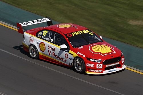 Albert Park Supercars: McLaughlin, Whincup split first two poles