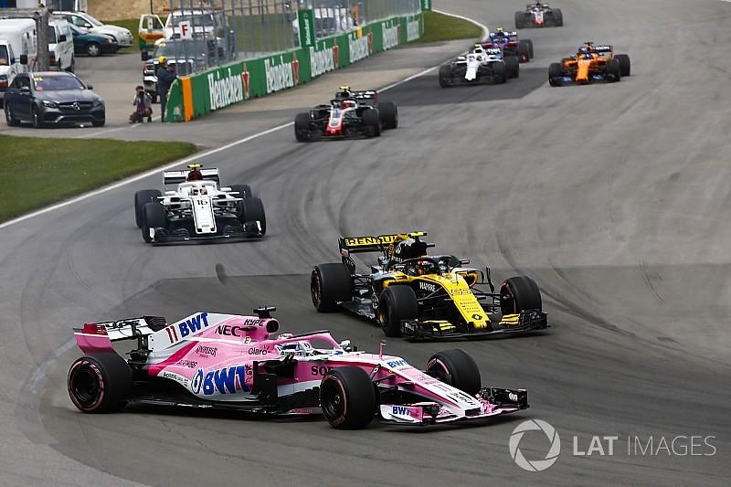 Сайнс и Перес обвинили друг друга в аварии на Гран При Канады
