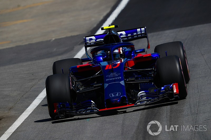 Gasly to start from last row in Canada after engine change