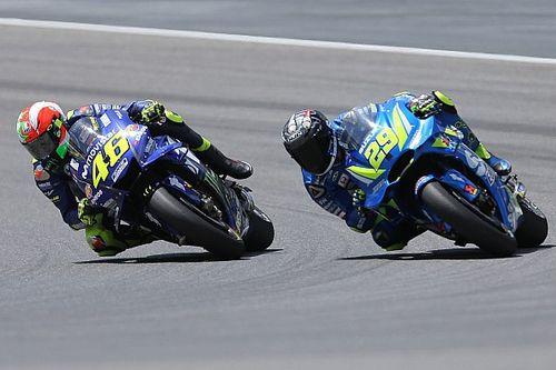 En difficulté avec son pneu, Iannone a vu le podium lui échapper
