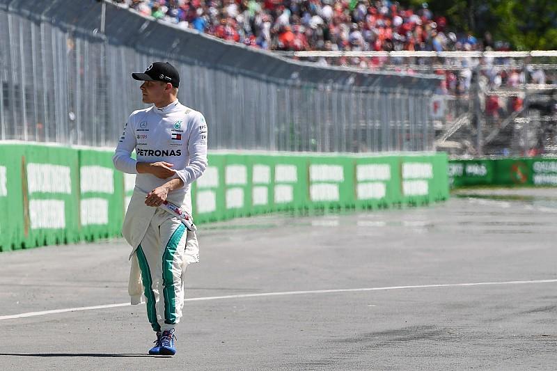 Bottas terminó decepcionado por no lograr la pole