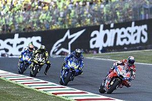 "Marquez crash like ""gold"" for Dovizioso title bid"