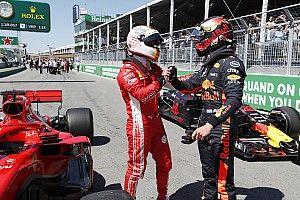 """Verstappen: """"Estar tan cerca de Mercedes y Ferrari es positivo"""""""