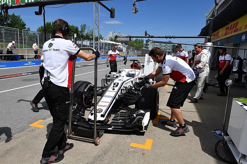 Sauber, Monaco'dan sonra Kanada GP'sinde de en hızlı pit stopu yaptı